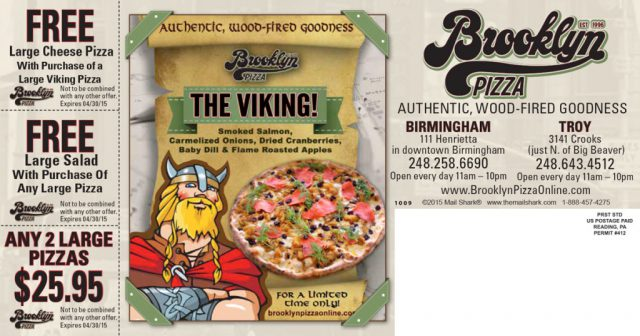 Brooklyn Pizza Postcard