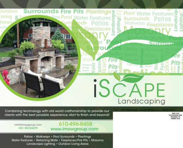 iScape Landscaping Postcard