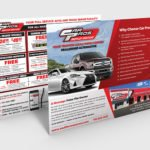 Jumbo Direct Mail Postcard for Automotive Industry