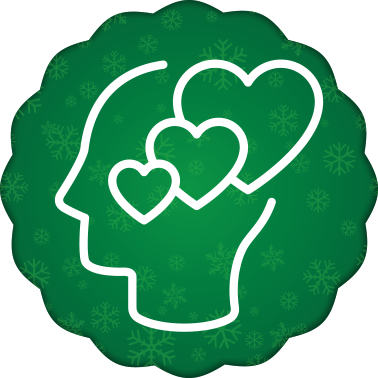 holiday direct mail emotion icon