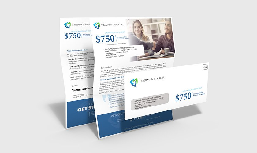 Double-sided 8.5″ × 11″ financial offer letter.